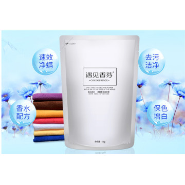 1KG Stand Up Pouch Laundry Powder Bag