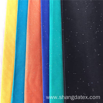 Rayon Satin Plain Dyed With Foil Dot