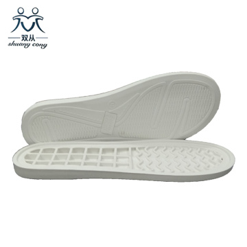 White TPR Outsole for Ma'am