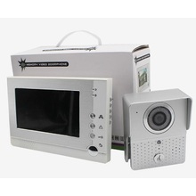Household night vision rainproof memory video intercom for villa house