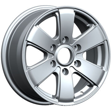 Silver Mercedes Replica Wheels