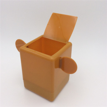 desktop garbage can plastic box planter