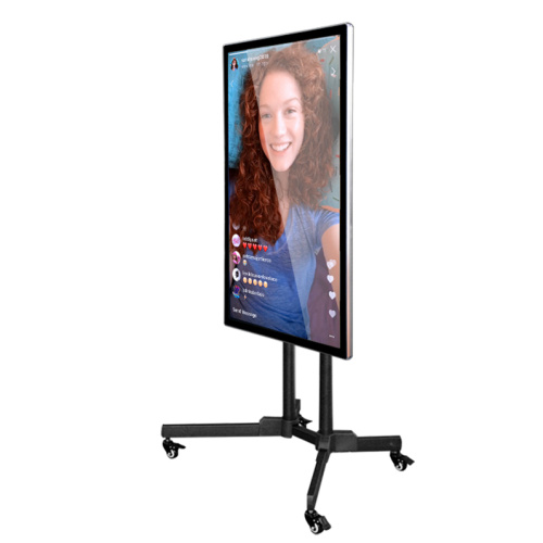 "65"" influencer live broadcast lcd touch screen"