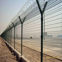 3m Height PVC coated welded Airport Fence