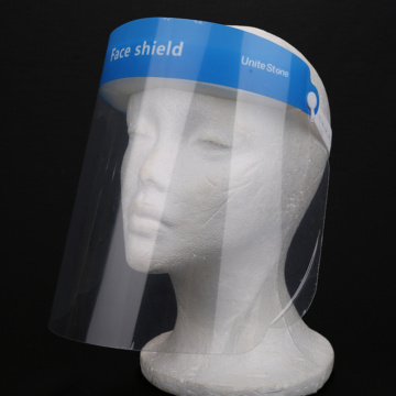 Transparent Single Use Mask Shield Visor Protection