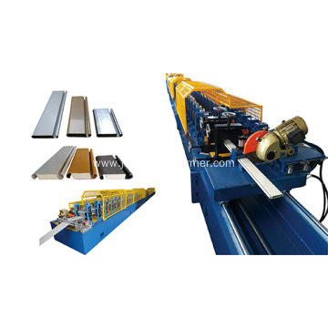 Double layer pu shutter door machine
