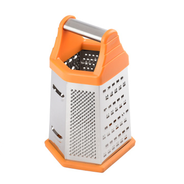 6 sided grater hand held grater slicer zester