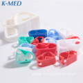 parts of iv infusion set plastic tube clip