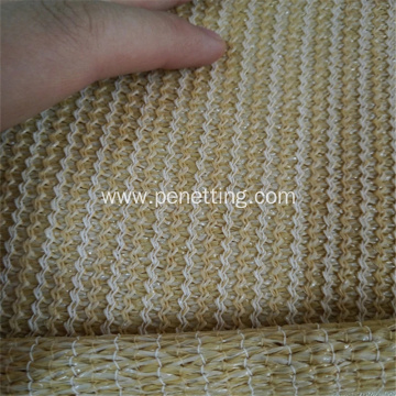 beige sun shade net with 90% shade rate