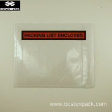 Packing List Envelope 4.5x5.5 inch Half Printed Red