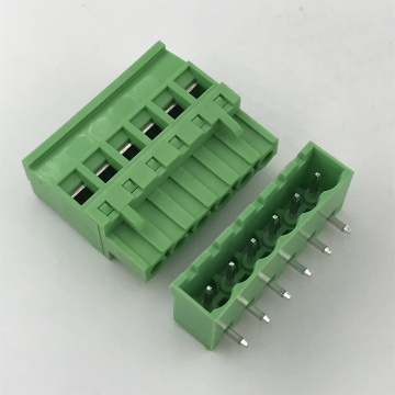 5.08MM pitch 180 degree PCB pluggable terminal block