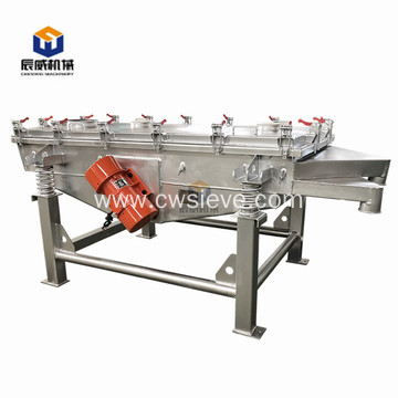 carbon steel linear vibrating screen for small particles