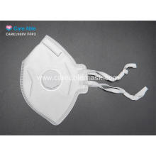 FFP3 Folded Protective Mask with valve CE