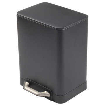 Black Pedal Bin withBucket for Home