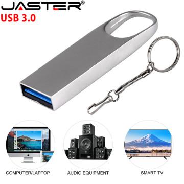 JASTER USB 3.0 metal USB Flash Drive 64GB 32GB 16GB 8GB 4GB USB Stick Metal Pen Drive Real Capacity (Over 10pcs Free logo)