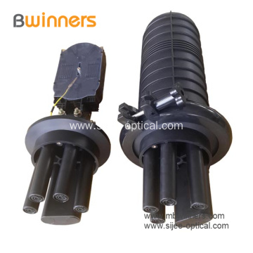 Vertical Dome Fiber Optic Splice Closure Box