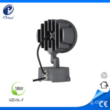 Building square scenic 9W led outdoor spot light