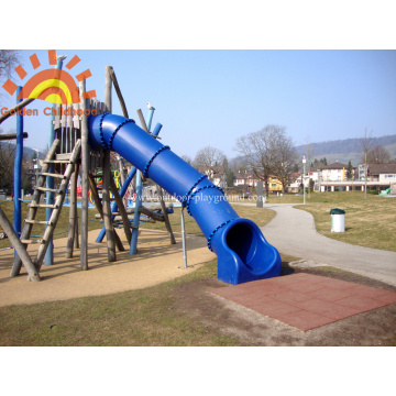 Adult Park Equipment Straight Tube Slide
