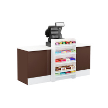 Latest Design Steel Grocery Checkout Counter