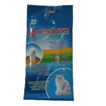 Cheap Pet with Cleaning Wet Tissue Wipes