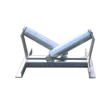 V Galvanized Pipe Cable Roller