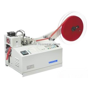 Automatic Woven Tape Cutter Hot and Cold Knife