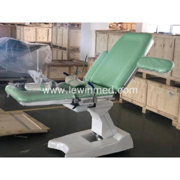Obstetric delivery chair electrical gynecological table