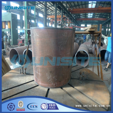 Wear resistant steel plates pipe
