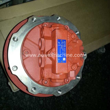 Case CX135 excavator final drive travel motor CX130