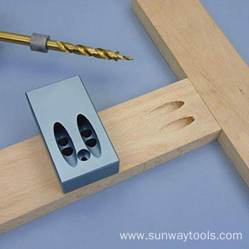 Pocket Hole Jig Kit with 9.5mm Drill Bits
