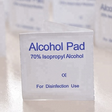 Disposable 70% Isopropyl Alcohol Swab