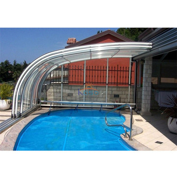 Pump Pc Roof Acrylic Dome Swimming Pool Cover