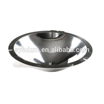 cheap spinning Aluminum  mirror polishing lamp cup