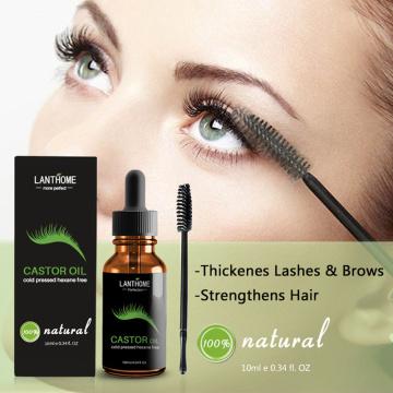 Eyebrow Eyelash Growth Liquid Castor Seed Oil Mild Maintenance Nourishing Eyelash Growth Essential Oil Eyelash Growth TSLM1