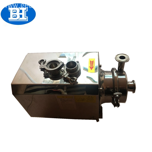 Stainless steel SS316L food grade hygienic self priming water pump for beer milk tank