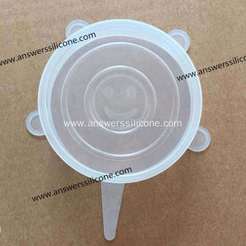 Spill Stopper Silicone Cooking Pot Cover Rubber Lids