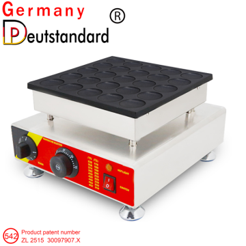 25holes mini dutch pancake machine poffertjes grill