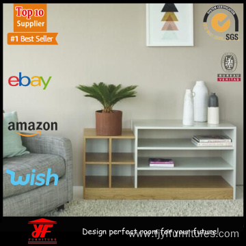 Narrow Wood Modern Console Table