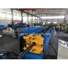 Construction material aluminium downpipe roll forming machine