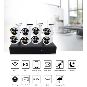 1080P 8CH wireless camera security system Panlabas