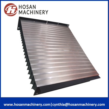 Customed Retractable Steel Guide Accordion Shield