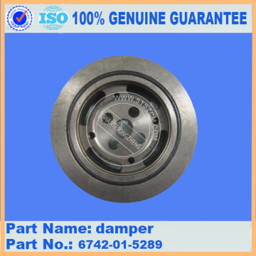 PC300-7/PC360-7/D61ex-12 engine damper 6742-01-5289