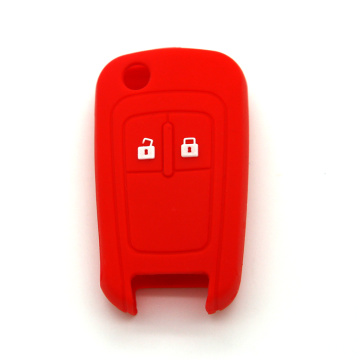 2 Button Chevrolet Silicone Car Key Cover