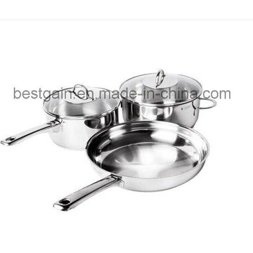 Stainless Steel 5PCS Kitchenware Cookware