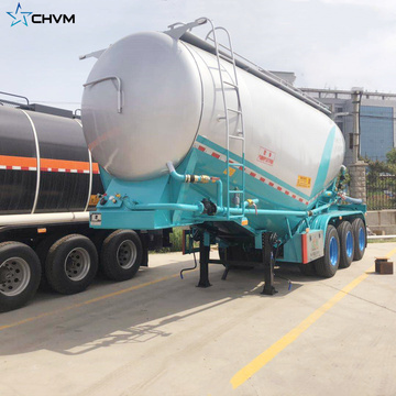 3 Axle 27.8cbm Bulk Cement Trailer