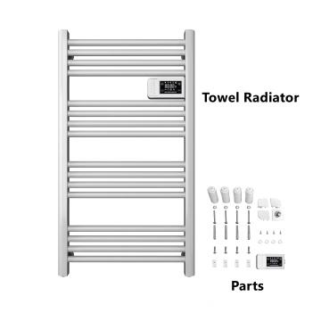 White Electric Towel Radiator Decorative rack Towel Ladder AVONFLOW