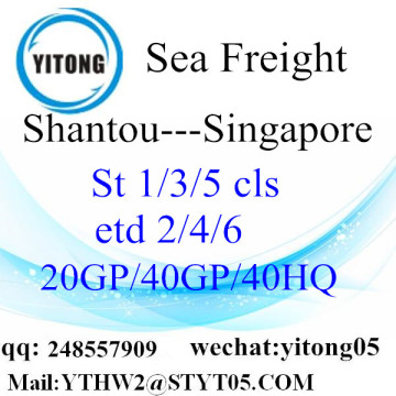Shantou Warehouse Service to Singapore