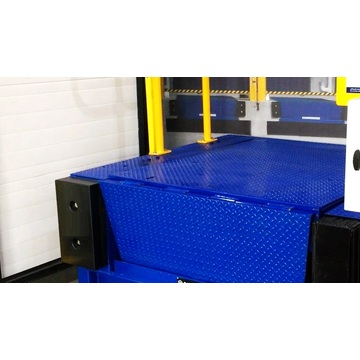 Loading dock leveler hydraulic
