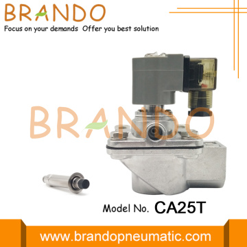 CA25T Right Angle Electromagnetic Pulse Jet Valve