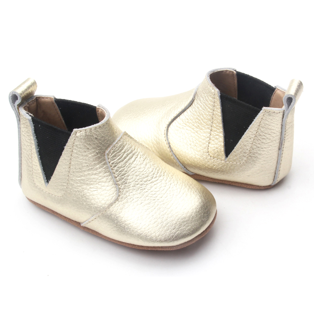 Soft Leather Baby Ankle Boots